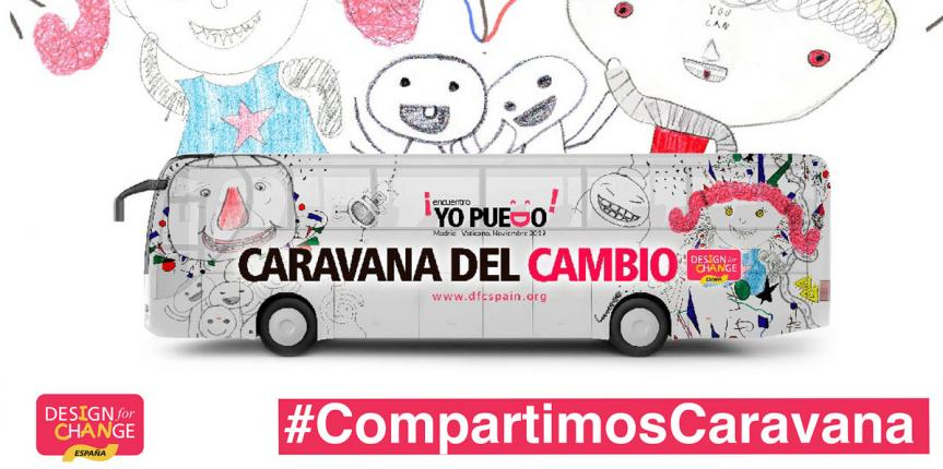Los colegios Santa Teresa de Jesús (Valladolid) y Divina Pastora (León), elegidos para formar parte de la 'Caravana del Cambio' de DFC España