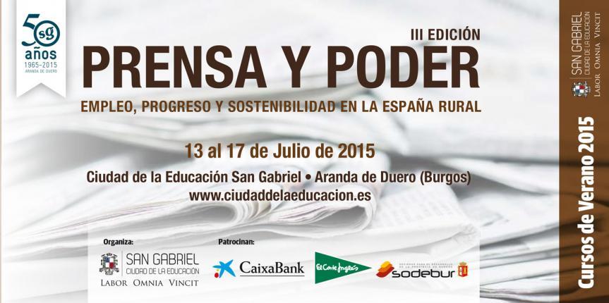 El Colegio San Gabriel contará con la presencia del ministro de Hacienda en su curso de verano 'Prensa y Poder'