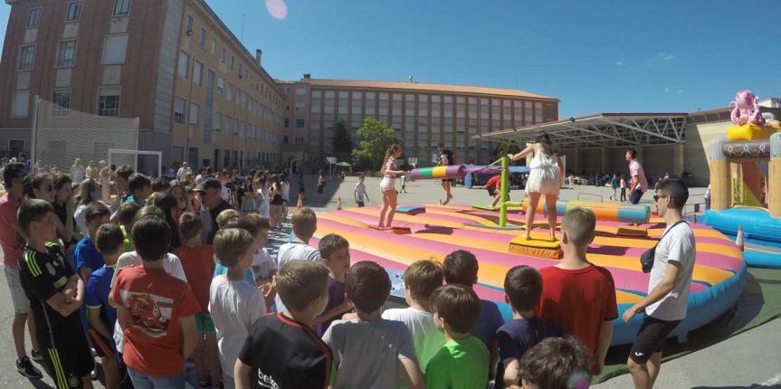 Jornada familiar en el Colegio Claret (Segovia) para cerrar el curso