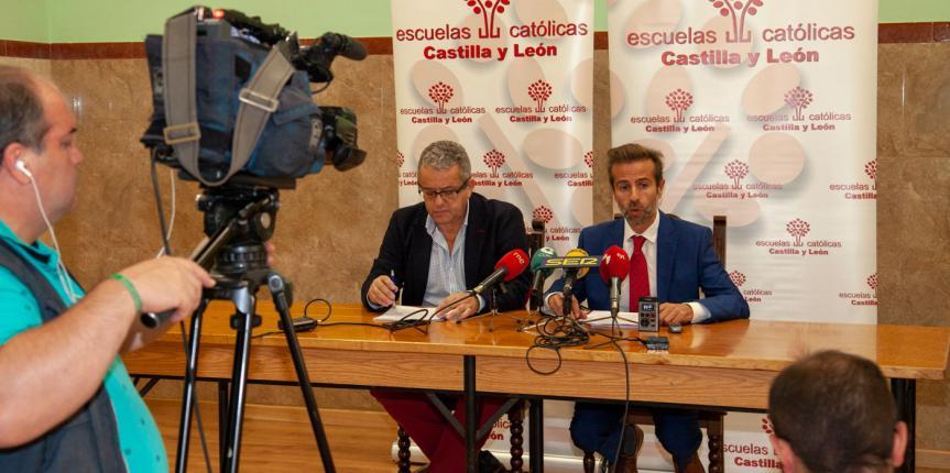 La escuela concertada católica representa el 24% de la educación en Ávila