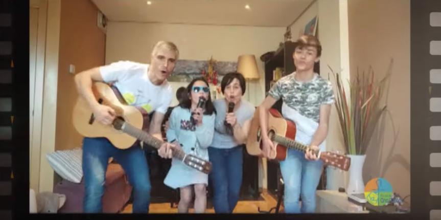 El Colegio Divina Pastora (León) anima a la sociedad con un vídeo musical