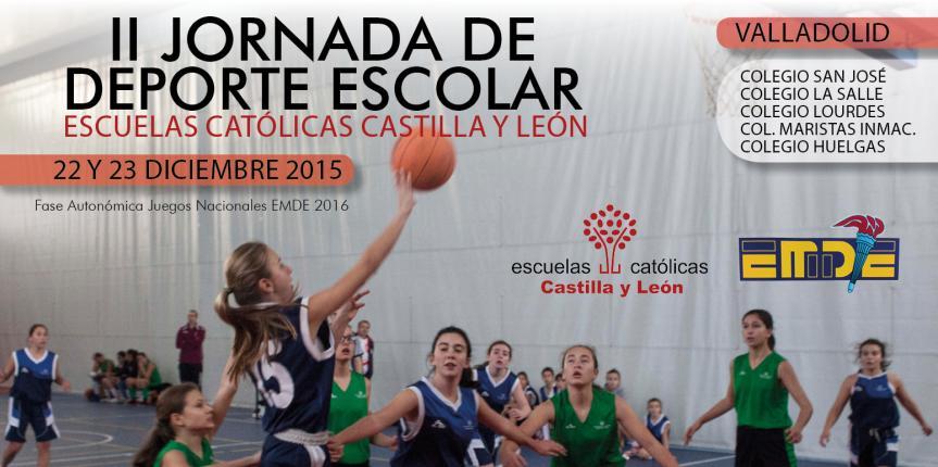 II Jornada de Deporte Escolar Escuelas Católicas Castilla y León