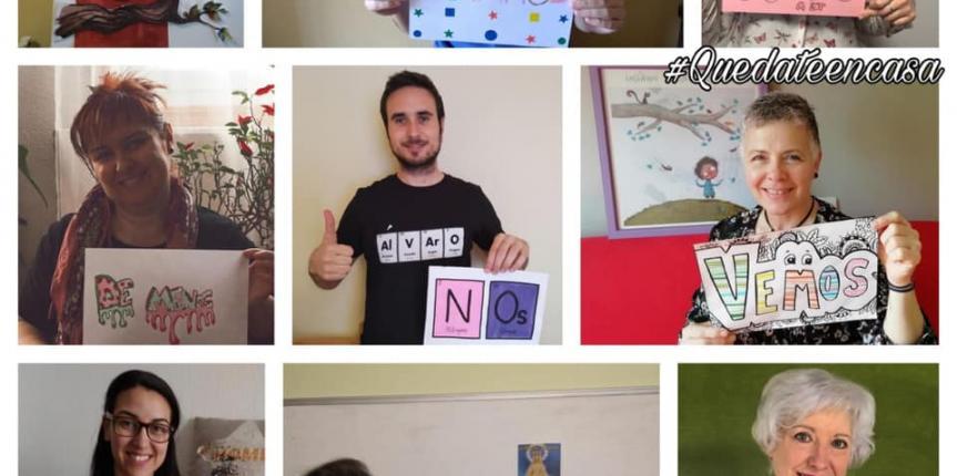 Educar en tiempos de coronavirus: Colegio Saldaña (Burgos)