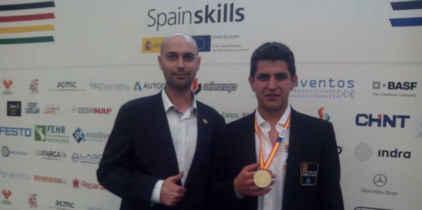Oro para Castilla y León en Soldadura con San Gabriel en la Olimpiada Nacional de FP Spainskills