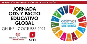 Jornada ODS y pacto educativo global – SM (Online – 7 octubre 2021 – de 16:30 a 18:00h)