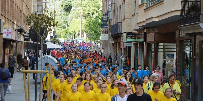 El Colegio Esclavas del Sagrado Corazón (Salamanca) acoge la celebración de la III Copa ACI
