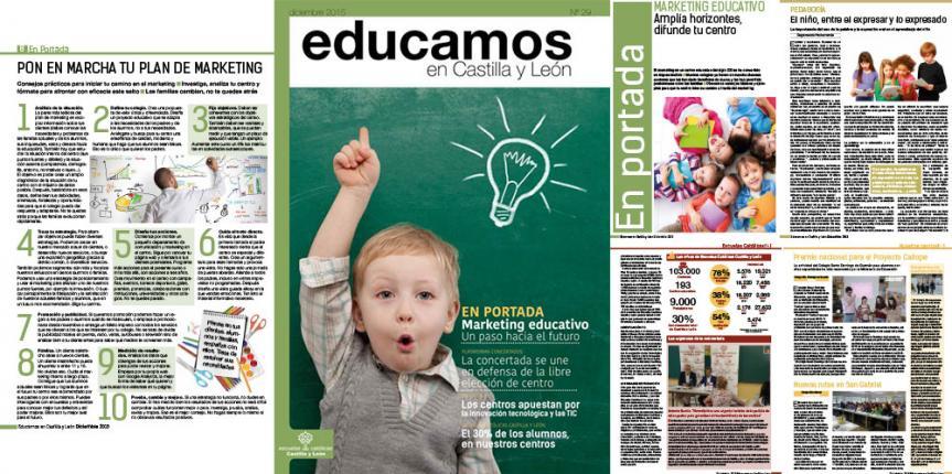 Publicamos nuestra revista 'Educamos en Castilla y León' número 29