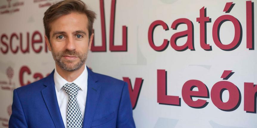 """Leandro Roldán Maza: """"Desde Escuelas Católicas Castilla y León lucharemos por un Pacto Educativo que dé estabilidad a largo plazo"""""""