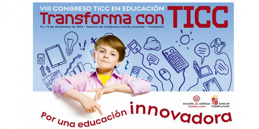 Programa del VIII Congreso TICC 'Transforma con TICC, por una educación innovadora'
