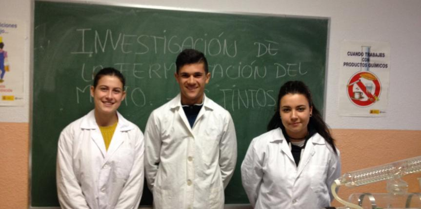 El proyecto del Colegio Divina Pastora (León) 'Investigación de la fermentación del mosto', finalista del concurso de química Vicente Garrido Capa