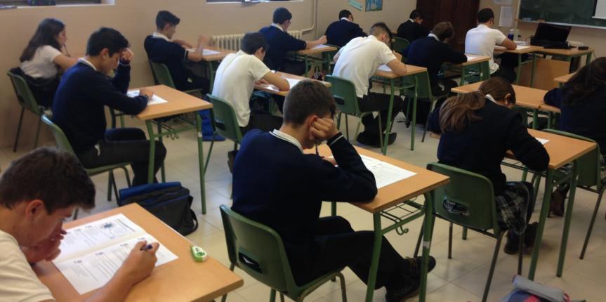 Los alumnos del Colegio La Asunción (León), seleccionados para la realización de la prueba de evaluación de final de ESO