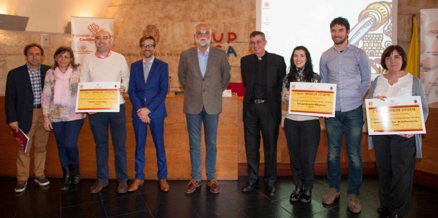 Escuelas Católicas Castilla y León entrega los premios de buenas prácticas a los tres proyectos más innovadores