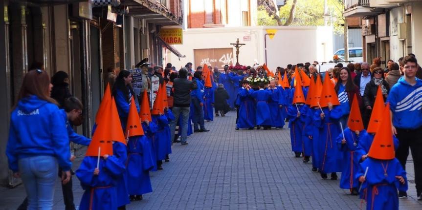 Procesión infantil de Semana Santa del Colegio Divino Maestro (Palencia)