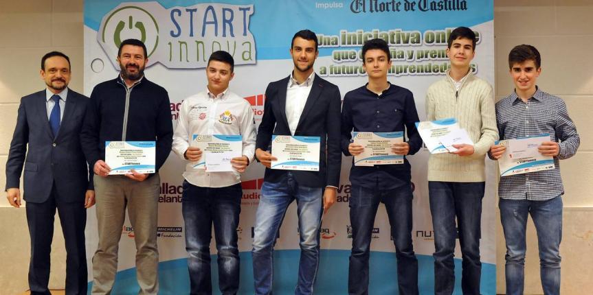 El Colegio Divina Pastora (León), tercer premio de START-Innova de Castilla y León con su proyecto de huertos ecológicos para fachadas