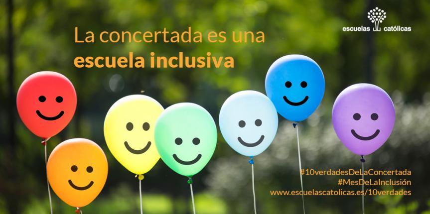 10 verdades de la concertada: febrero, mes de la inclusión