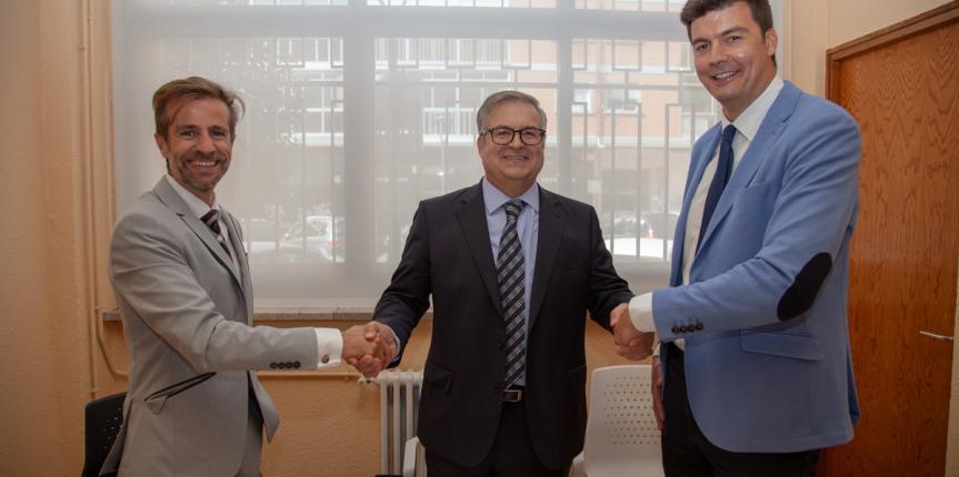 Renovación del acuerdo entre Escuelas Católicas Castilla y León, Activa y MacMillan