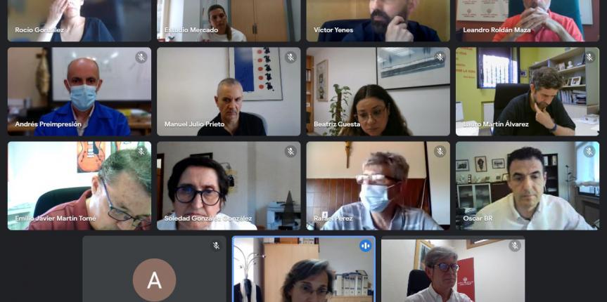 Centros de FP de Escuelas Católicas de Salamanca se reúnen con CEOE CEPYME Salamanca