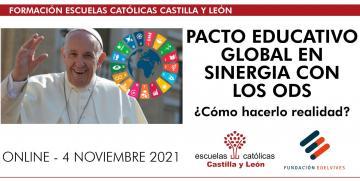 Jornada Pacto Educativo Global en sinergia con los ODS ¿Cómo hacerlo realidad? – EDELVIVES (Online – 4 noviembre 2021 – 16:30 a 18:00h)