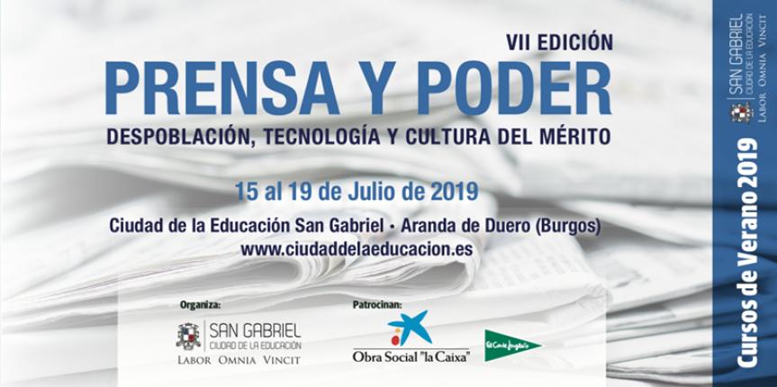 San Gabriel acoge el curso de verano Prensa y Poder