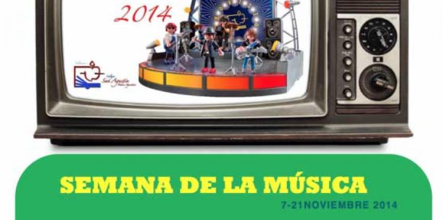 El Colegio San Agustín (Salamanca) y el Colegio San José (Valladolid) celebran el día de la música