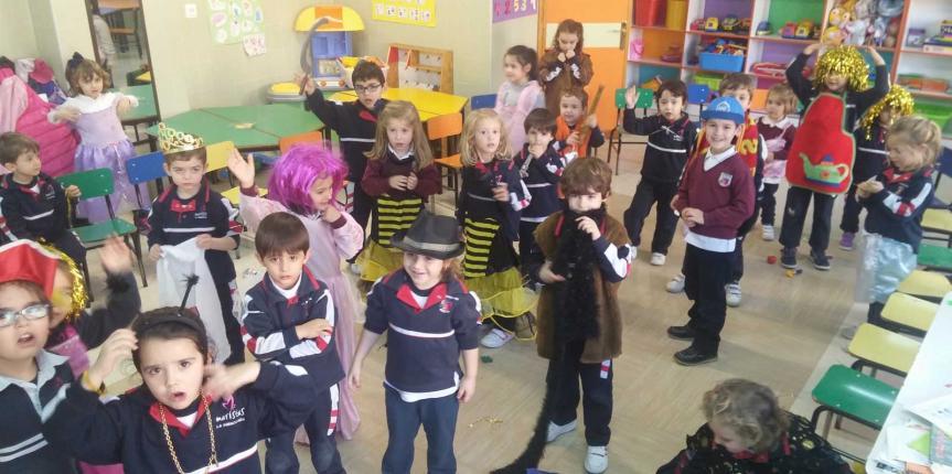 Proyecto de estimulación multisensorial infantil en el Colegio La Inmaculada Maristas (Valladolid)