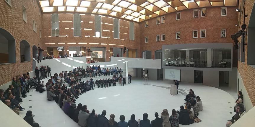 El Colegio Nuestra Señora del Pilar (Valladolid) inaugura su innovador Espacio Ágora