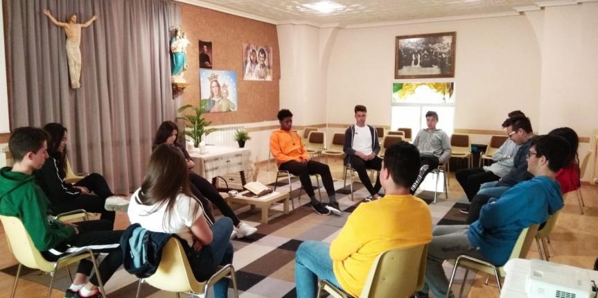 El sabor de la felicidad compartida, proyecto pastoral de Salesianos (Arévalo)