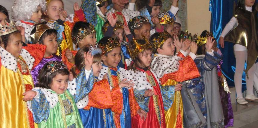 Navidad en el Colegio Sagrado Corazón (Soria)