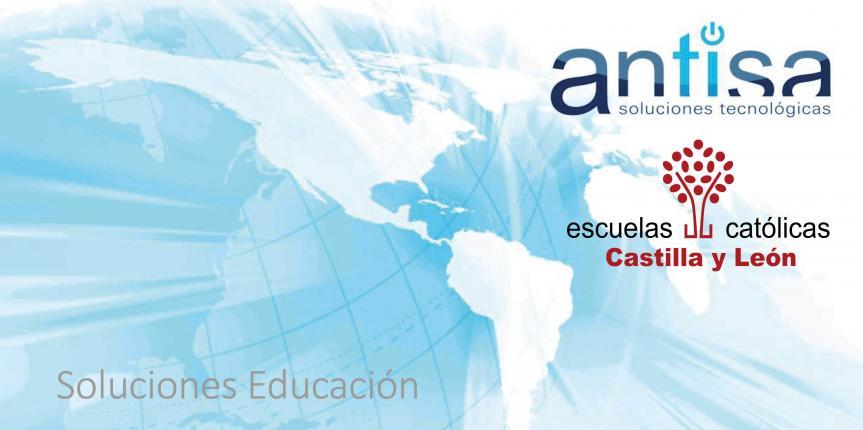 Acuerdo de colaboración de Escuelas Católicas Castilla y León con ANTISA