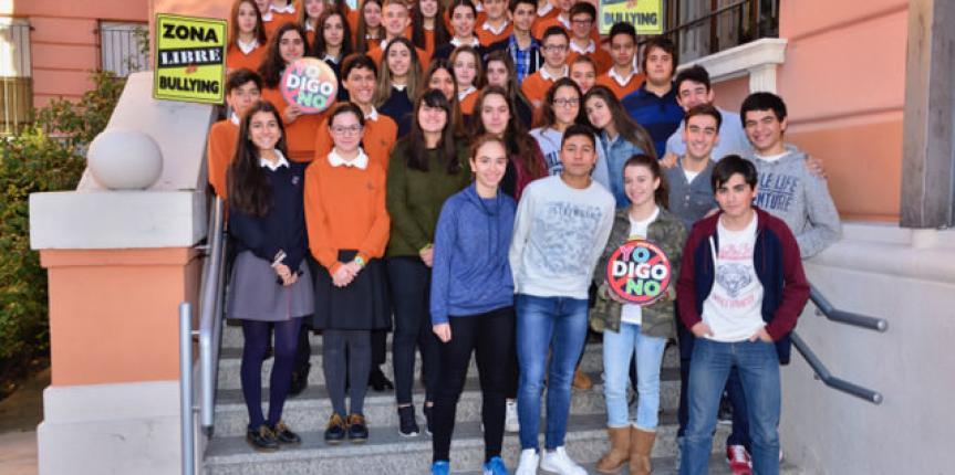 El Colegio Divina Pastora de León premiado por su proyecto 'Convivencia Activa' contra el acoso escolar