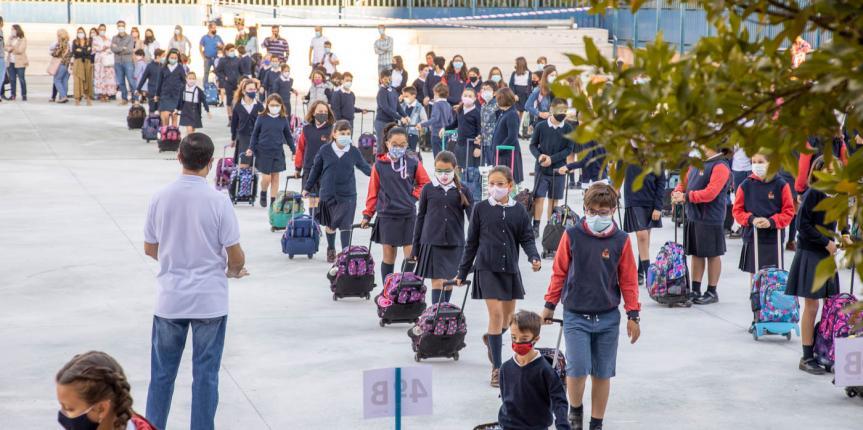 Los centros de Escuelas Católicas Castilla y León, listos para comenzar con seguridad el curso escolar 2020-2021