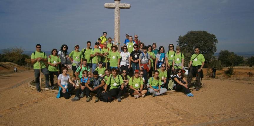 Pastorinas en el Camino, medio centenar de peregrinos del Colegio Divina Pastora (León) finalizan el Camino de Santiago