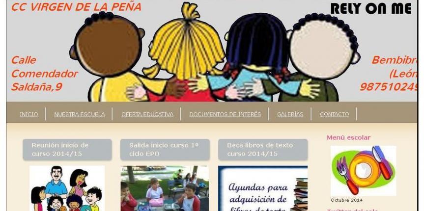 El Colegio Virgen de la Peña, Premio Nacional de la Fundación Mafpre