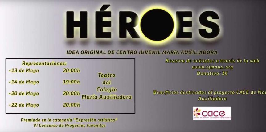 El Centro Juvenil María Auxiliadora estrena su musical 'Héroes'