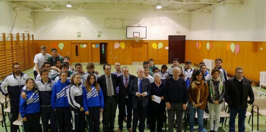 El colegio Divino Maestro de Palencia, galardonado en los Premios Gestión de Residuos de Aparatos Eléctricos y Electrónicos