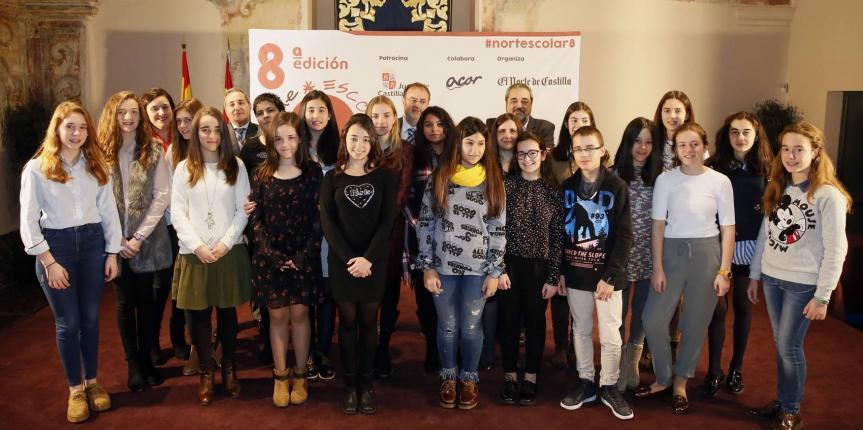 Tres colegios de Escuelas Católicas Castilla y León ganan el concurso El Norte Escolar