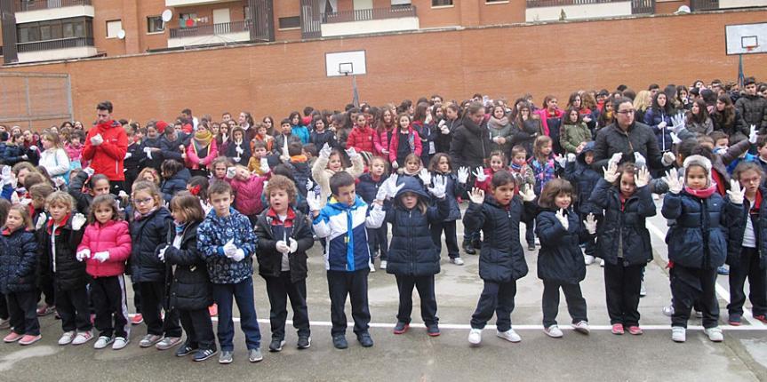 Día de la Paz en el Colegio Esclavas del Sagrado Corazón de Jesús (Salamanca)