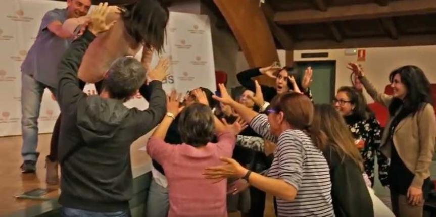 Mannequin Challenge del IX Congreso TIC en Educación de Escuelas Católicas Castilla y León