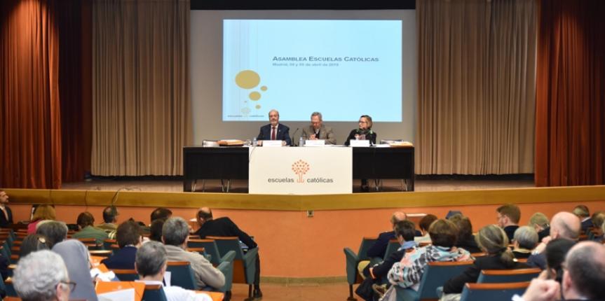 Asamblea general 2019: Escuelas Católicas presenta claves de una escuela evangelizadora del siglo XXI