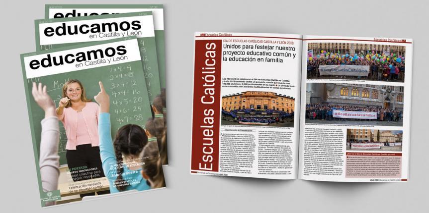 Revista 'Educamos en Castilla y León' número 36, abril 2018