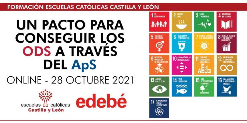 Jornada un pacto para conseguir los ODS a través del ApS – EDEBÉ (Online – 28 octubre 2021 – de 16:30 a 18:00h)