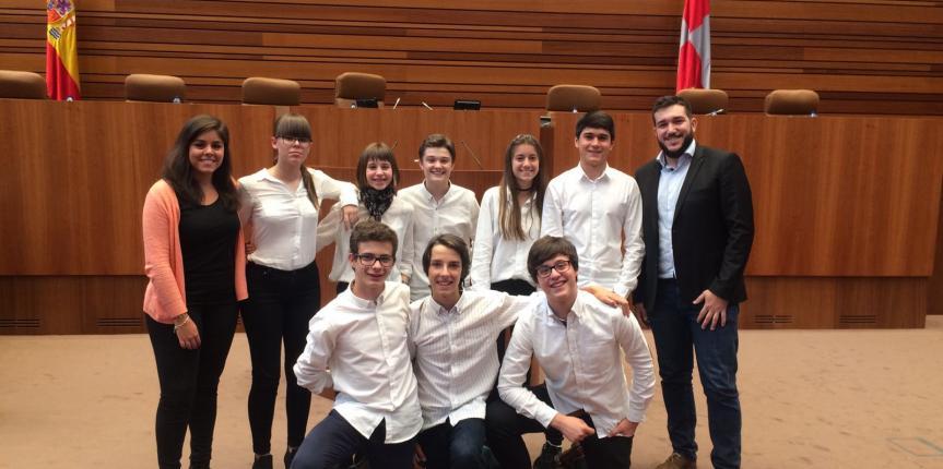 El Colegio Claret (Segovia) se proclama campeón de la Liga de Debate autonómica