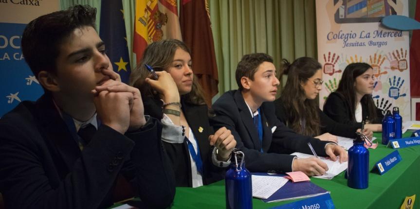 Peregrinos de la palabra: Liga de debate Educsi Zona Norte en Burgos
