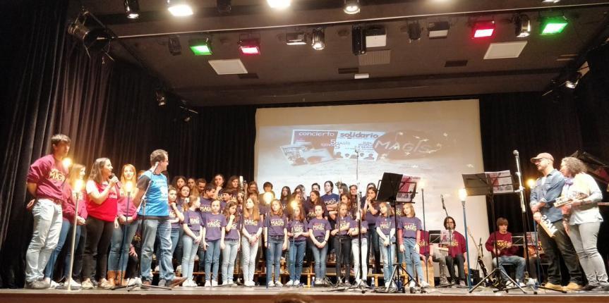 El Grupo Mag+s del Colegio San José (Valladolid) celebra su quinto aniversario con un concierto solidario a favor de Red Incola y Entreculturas
