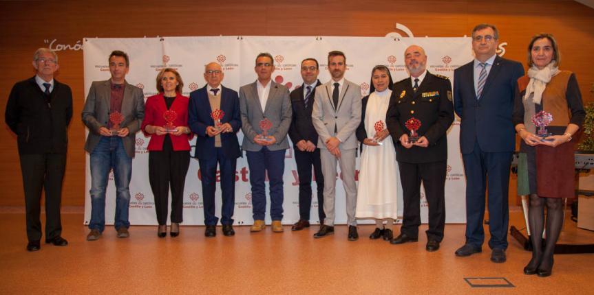 Escuelas Católicas Castilla y León galardona a la Policía Nacional junto a centros y docentes ejemplares