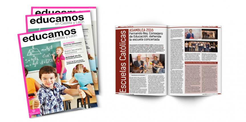 Revista 'Educamos en Castilla y León' número 31, junio de 2016