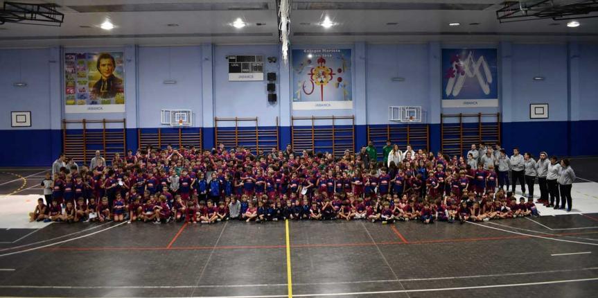 Maristas San José (León) presenta sus equipos deportivos