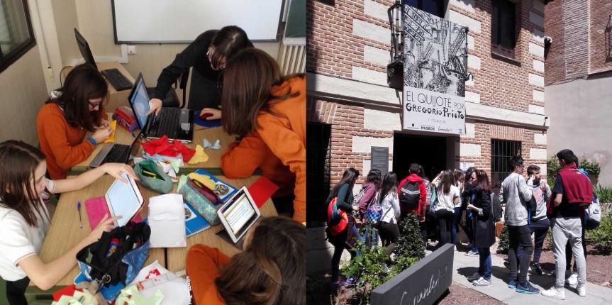 Proyecto interdisciplinar del Colegio Divina Pastora (León): 'Leer o no leer… That's the question' por los 400 años de la muerte de Shakespeare y Cervantes
