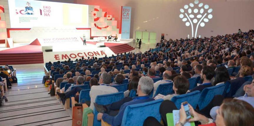 Representantes de centros de Escuelas Católicas Castilla y León participan en el Congreso Emociona