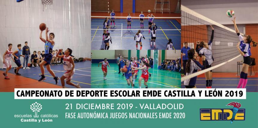 Campeonato de Deporte Escolar EMDE 2019